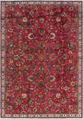 7' 2 x 10' 9 Tabriz Persian Rug thumbnail