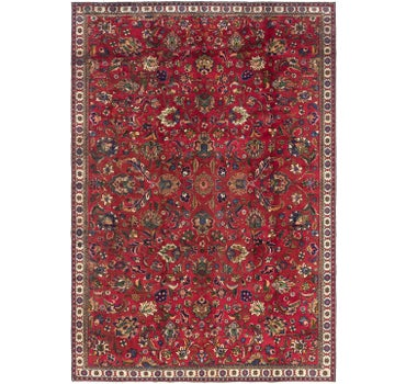 7' 2 x 10' 9 Tabriz Persian Rug main image