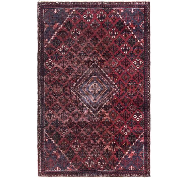 160cm x 255cm Joshaghan Persian Rug