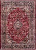 9' 7 x 13' Mashad Persian Rug thumbnail