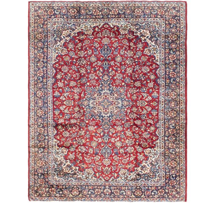 9' 7 x 12' 2 Isfahan Persian Rug