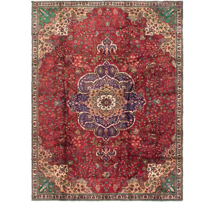7' 9 x 10' 2 Tabriz Persian Rug