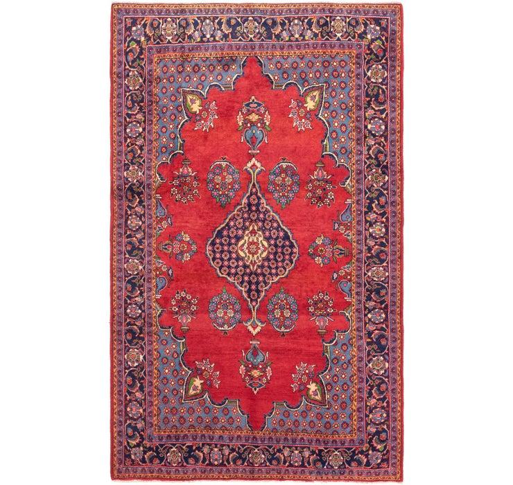 7' 3 x 12' Golpayegan Persian Rug