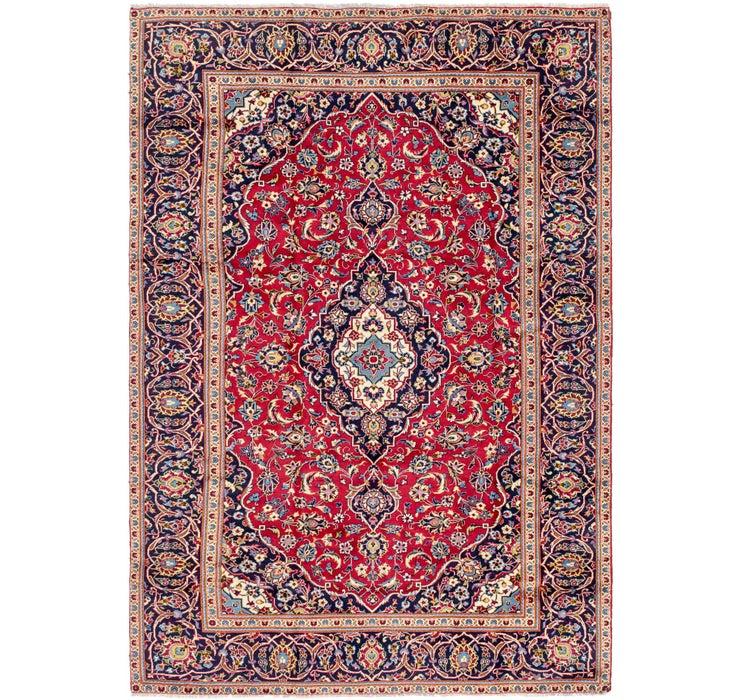 7' 8 x 11' Kashan Persian Rug