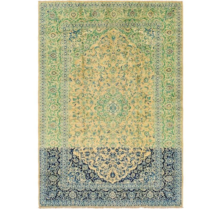 8' 9 x 12' 6 Kashan Persian Rug