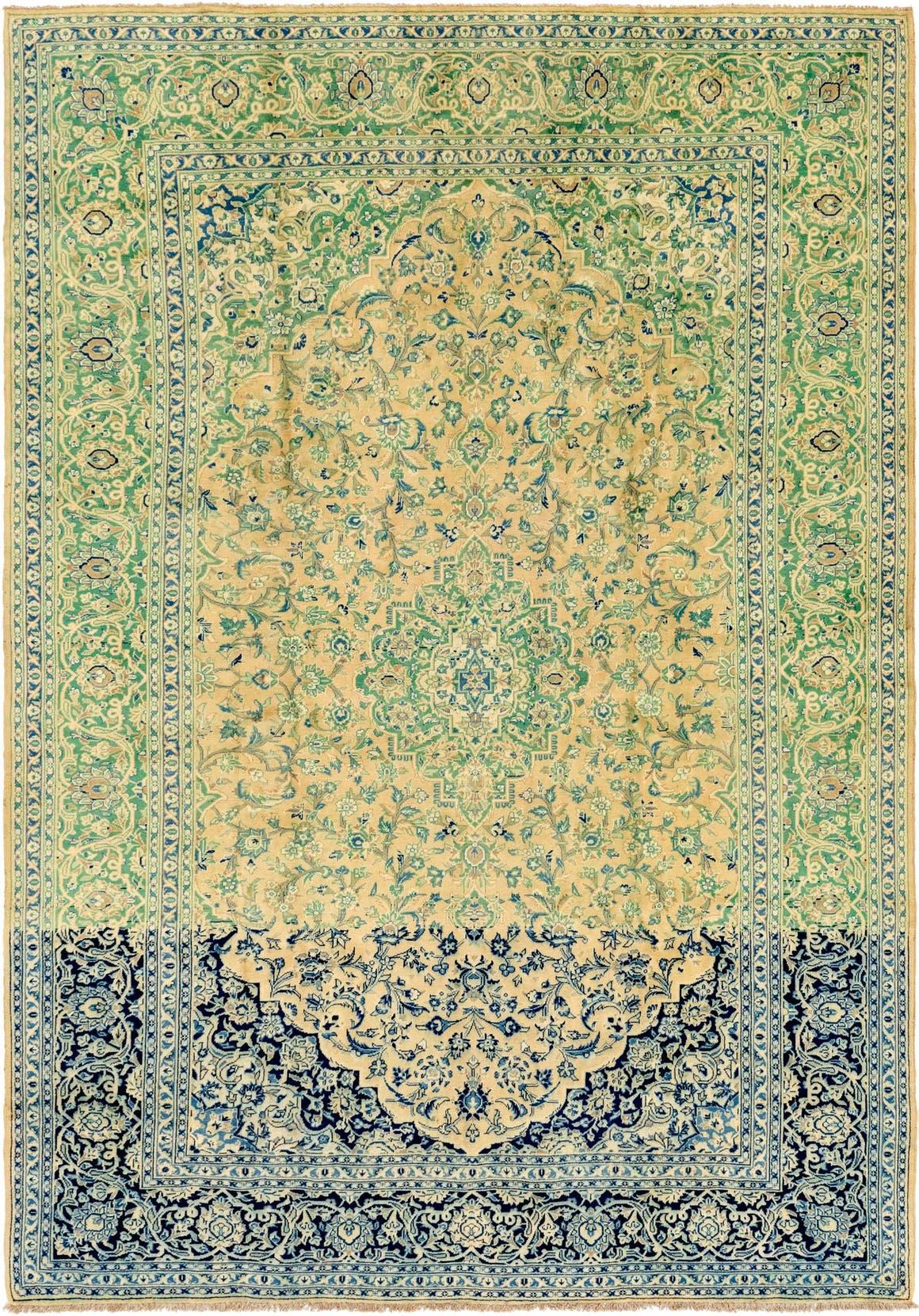8' 9 x 12' 6 Kashan Persian Rug main image