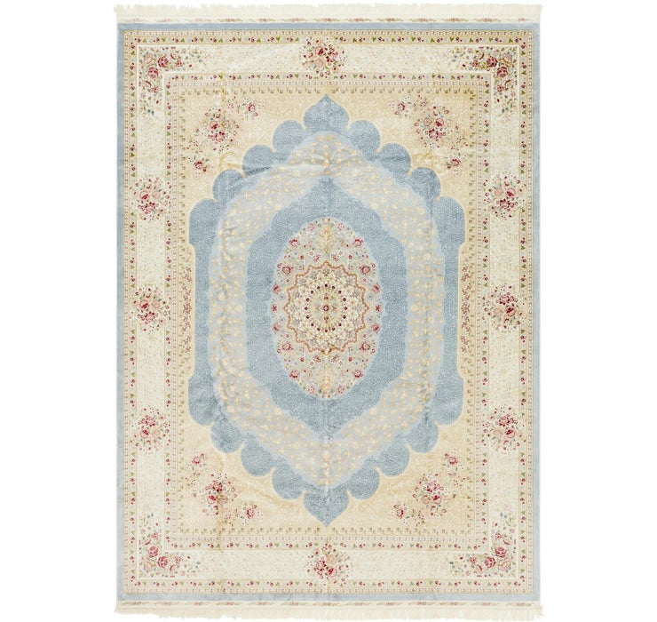 Image of 275cm x 385cm Qom Design Rug