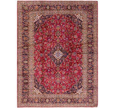 Image of 10' x 13' 2 Kashan Persian Rug