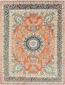 8' 7 x 10' 10 Kerman Persian Rug thumbnail