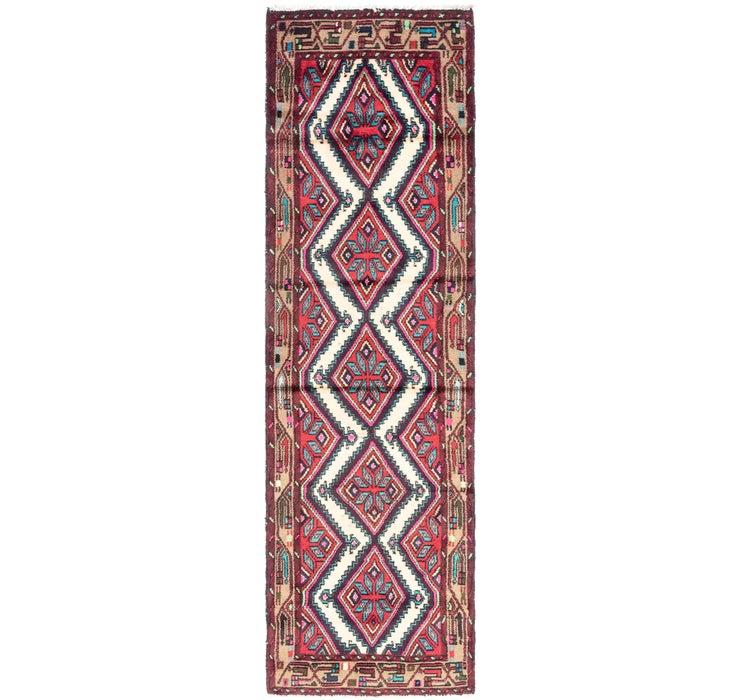 80cm x 287cm Chenar Persian Runner Rug