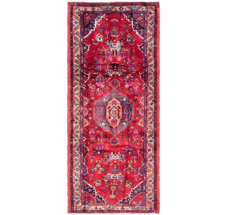 127cm x 320cm Hamedan Persian Runner ...
