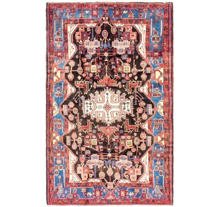 160cm x 267cm Nahavand Persian Rug