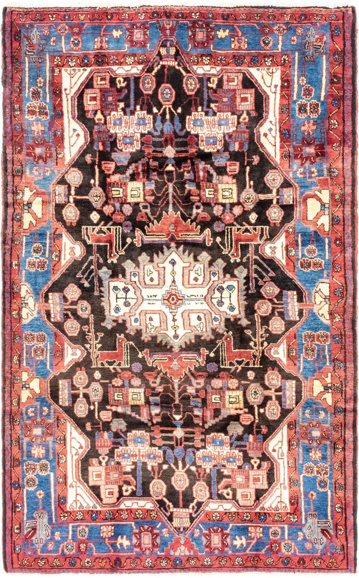 5' 3 x 8' 9 Nahavand Persian Rug main image