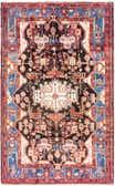 5' 3 x 8' 9 Nahavand Persian Rug thumbnail