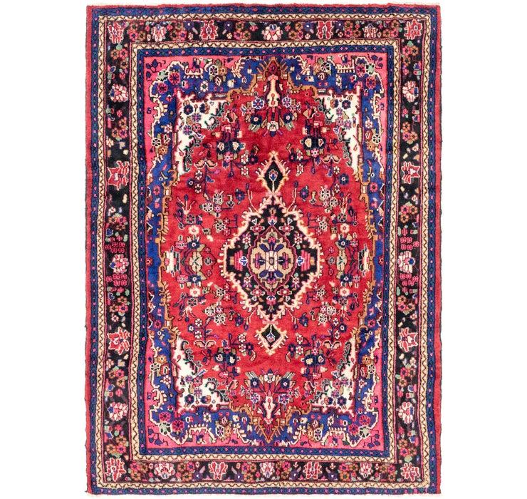 213cm x 290cm Hamedan Persian Rug