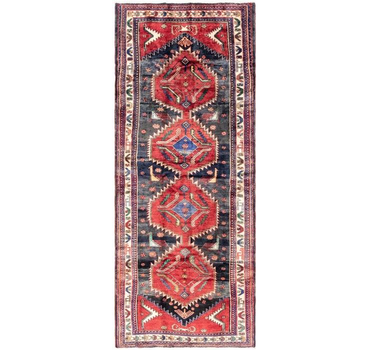 152cm x 385cm Hamedan Persian Runner ...