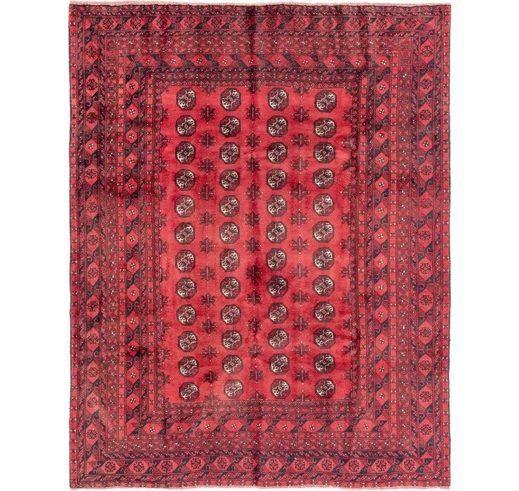 200cm x 262cm Afghan Akhche Rug
