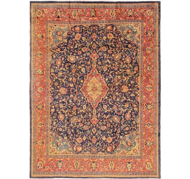 10' x 13' 4 Mahal Persian Rug