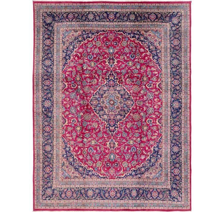 10' 2 x 13' 3 Mashad Persian Rug