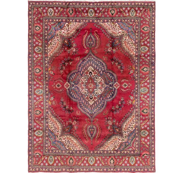 9' 7 x 13' 3 Tabriz Persian Rug