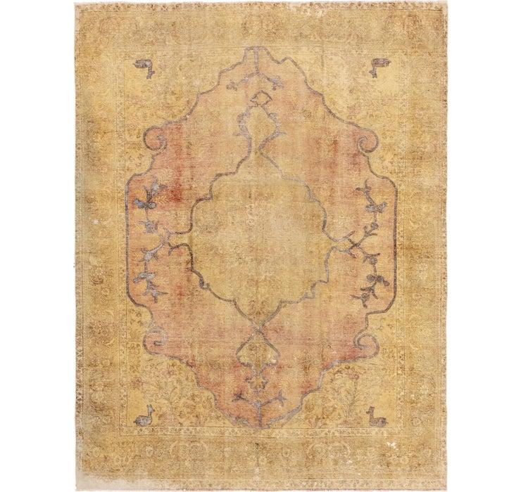 9' 4 x 12' 5 Ultra Vintage Persian Rug