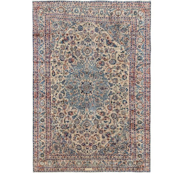 240cm x 348cm Kashan Persian Rug