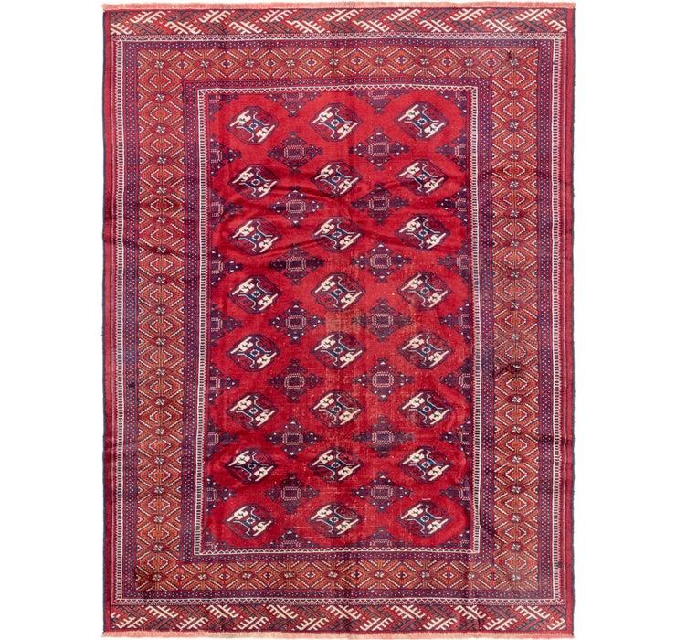 6' 10 x 9' 4 Torkaman Persian Rug