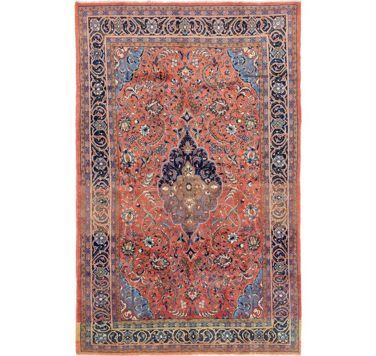 7' 9 x 12' 4 Golpayegan Persian Rug