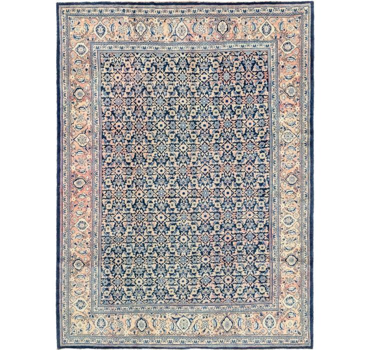 9' 1 x 12' 4 Farahan Persian Rug