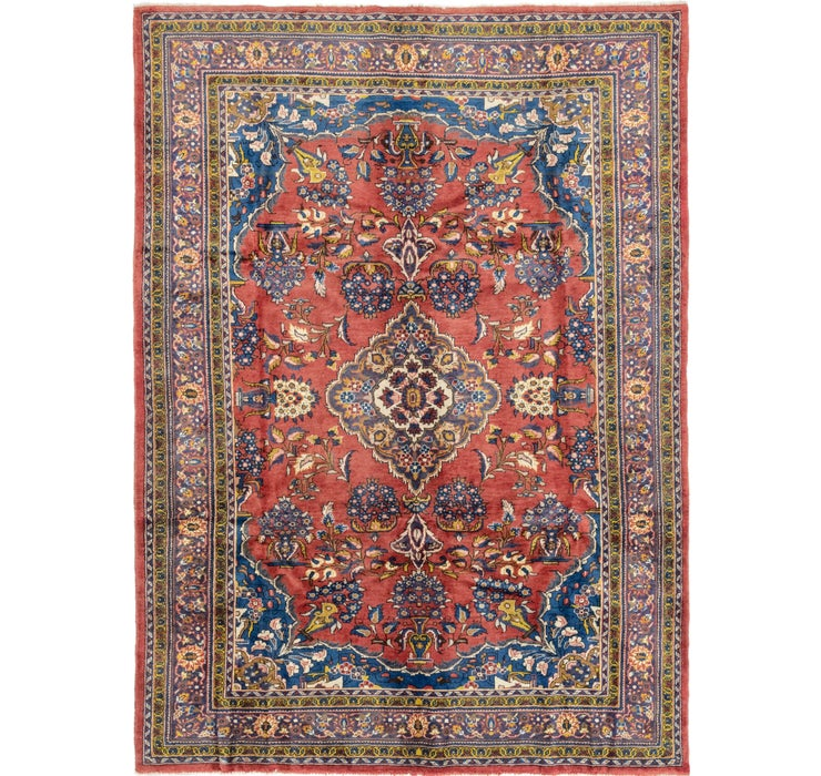 220cm x 310cm Golpayegan Persian Rug
