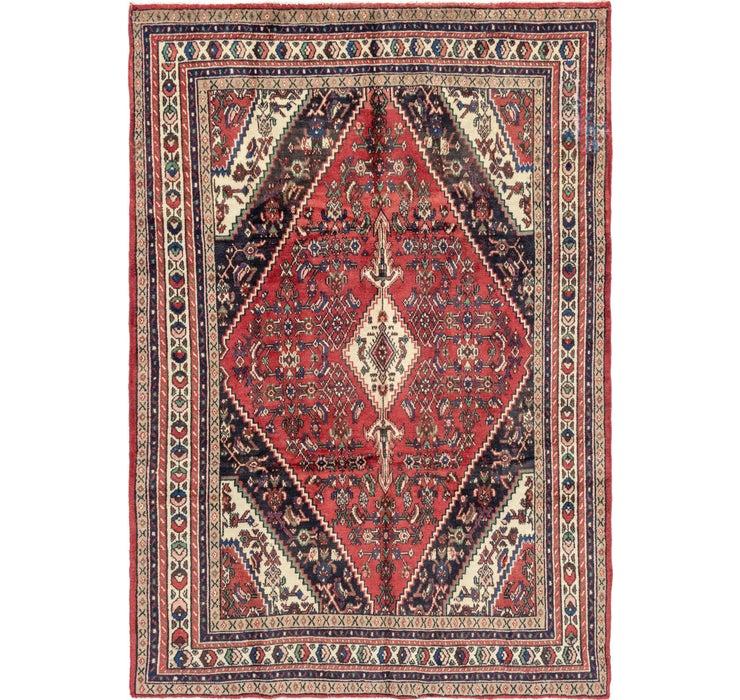 213cm x 300cm Hamedan Persian Rug