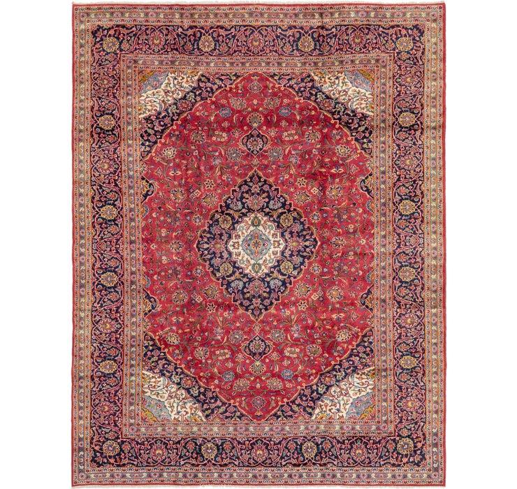 295cm x 375cm Kashan Persian Rug