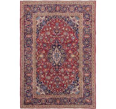 7' 10 x 11' 5 Kashan Persian Rug main image