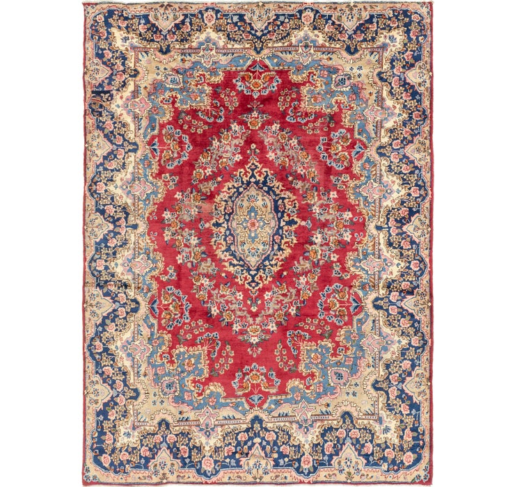 250cm x 343cm Kerman Persian Rug