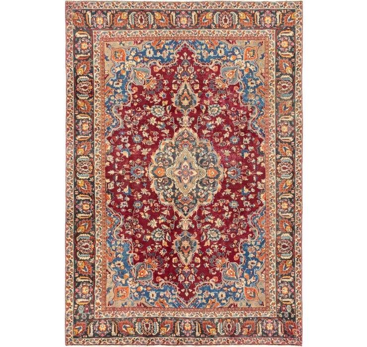 195cm x 290cm Isfahan Persian Rug