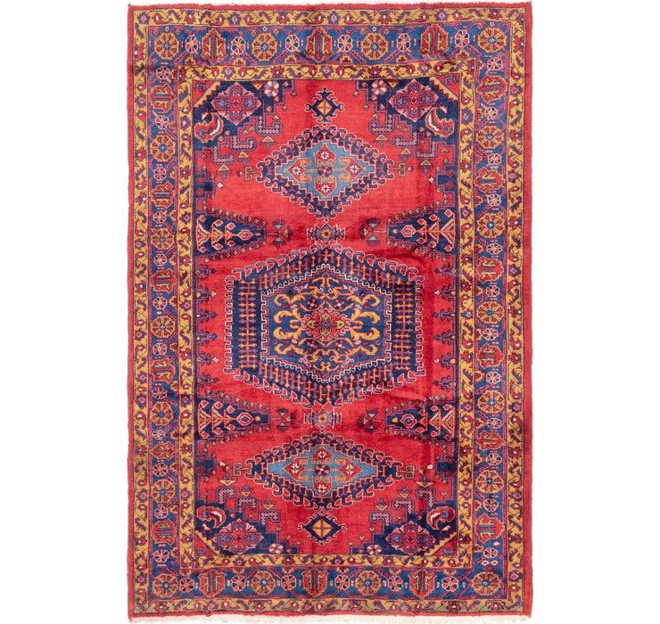 7' x 10' Viss Persian Rug