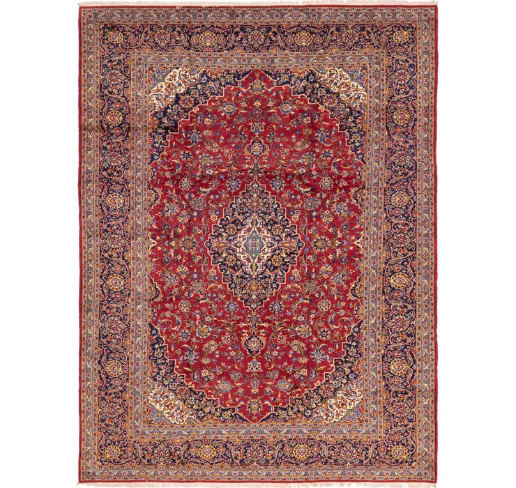 300cm x 415cm Kashan Persian Rug