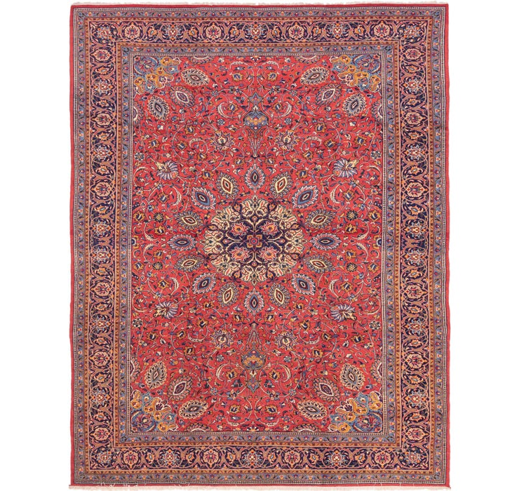 297cm x 385cm Sarough Persian Rug