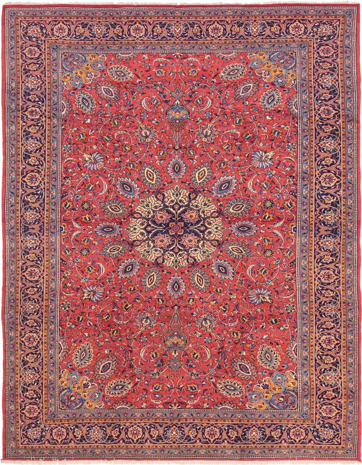 9' 9 x 12' 7 Sarough Persian Rug main image