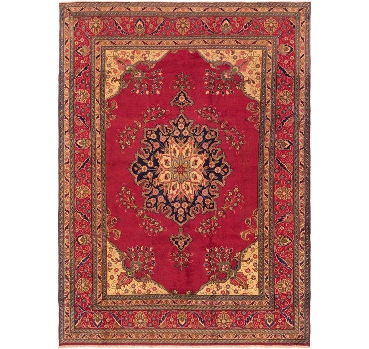 8' x 11' Tabriz Persian Rug