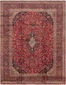 290cm x 385cm Mashad Persian Rug thumbnail image 1