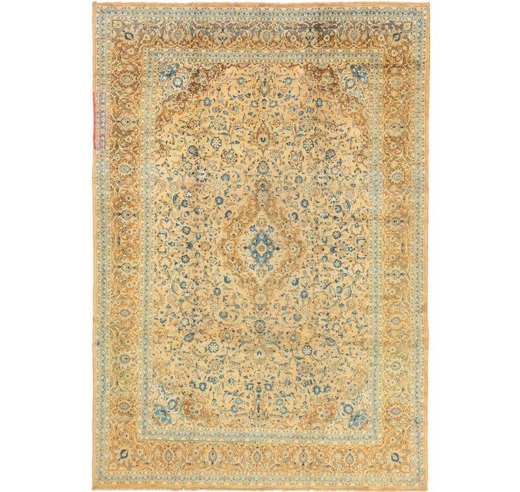 9' 2 x 13' 4 Kashan Persian Rug
