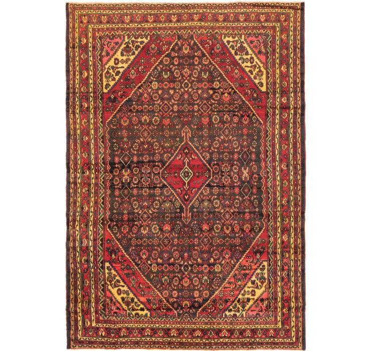 255cm x 370cm Hamedan Persian Rug