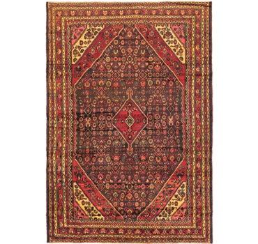 8' 4 x 12' 2 Hamedan Persian Rug main image