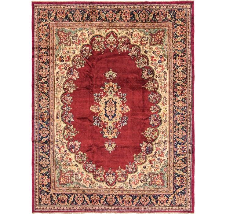 325cm x 427cm Meshkabad Persian Rug