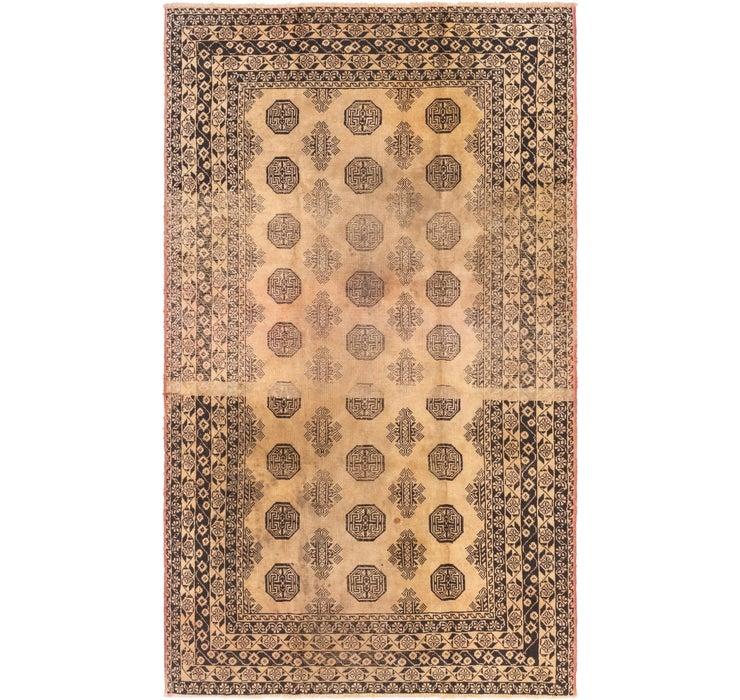 4' 4 x 7' 2 Torkaman Persian Rug