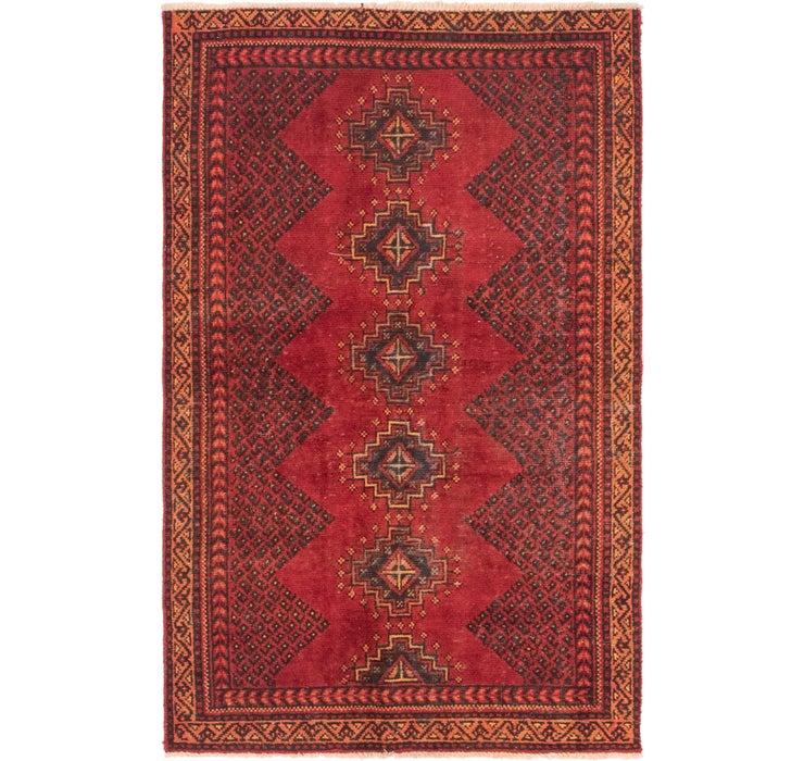 112cm x 188cm Hamedan Persian Rug