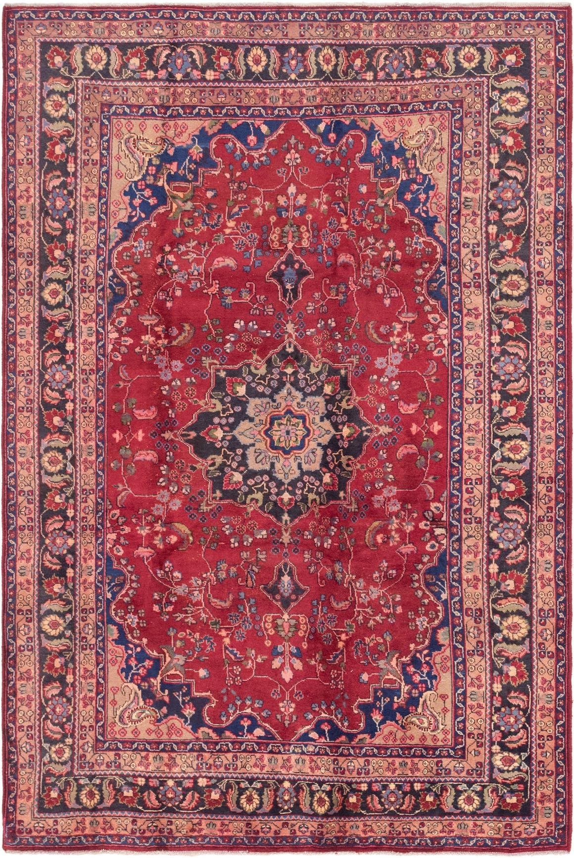 6' 3 x 9' 8 Mashad Persian Rug main image