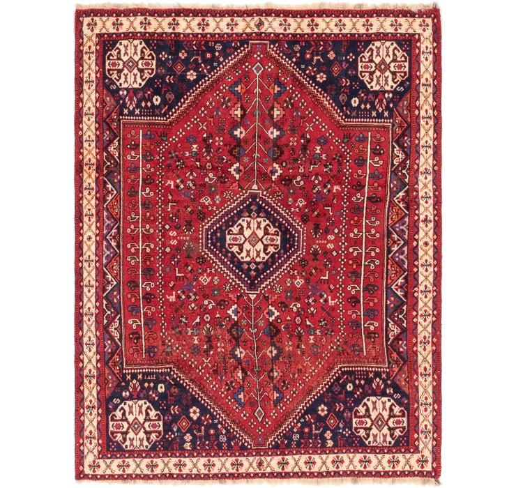 5' 10 x 7' 7 Ghashghaei Persian Rug