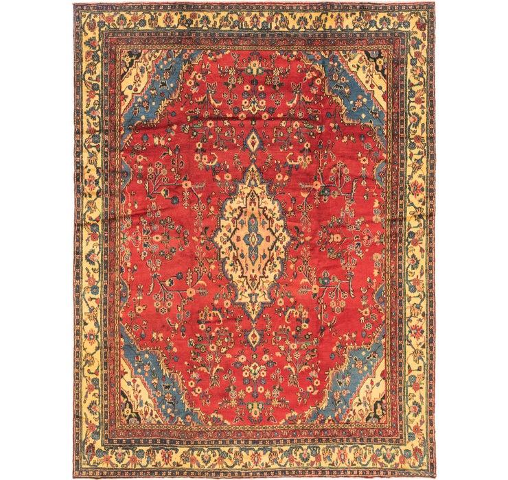 9' 8 x 12' 8 Hamedan Persian Rug